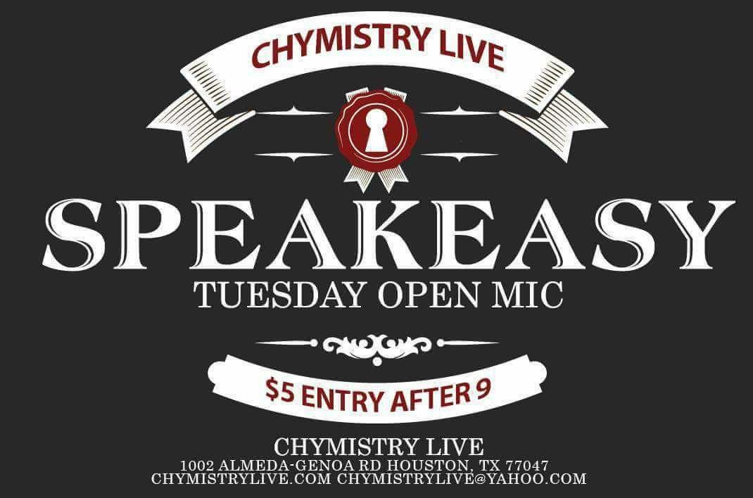 Chymistry Live- Speakeasy