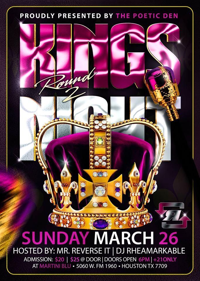 The Poetic Dean Presents Kings Night 2