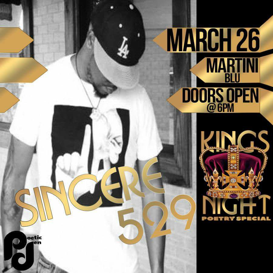 Sincere529 at Kings Night 2